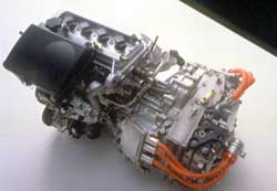 A Generator Is Built Into The Generating Components That Can Charge Electric Motor While Car Running Kinetic Energy Escapes As