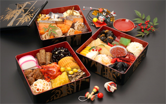 Osechi Ryori Expresses People's Wishes for the New Year