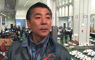 A Special Eye for Quality At Toyosu Fish Market
