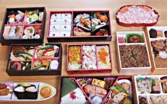 Ekiben  Boxed Lunches for Train Travel