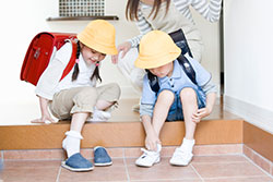 shoes - housing, food, and clothes - explore japan - kids web