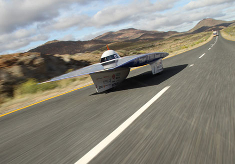 tokai challenger heading for cape town in the south african race photo courtesy of
