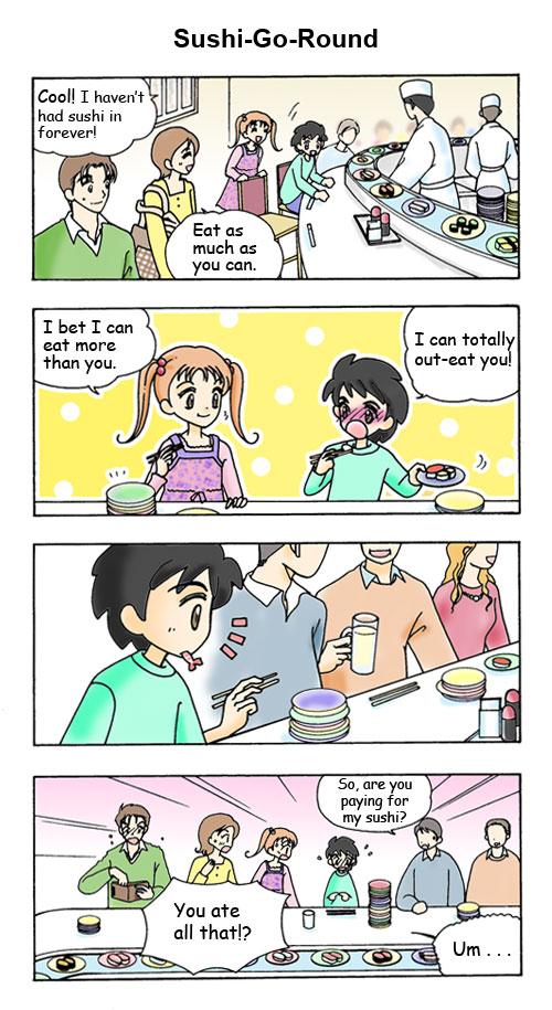 November Sushi Go Round