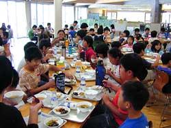 Lunch - Shinanodai Elementary School - Meet the Kids - Kids