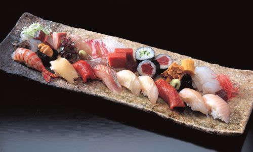 Recipes yellowtail flounder fish sushi