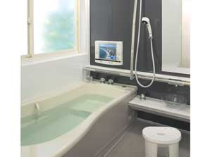 Etonnant Japanese Household Bathrooms Have Separate Areas For Washing And Soaking.  (C) TOKYO GAS CO.,Ltd.