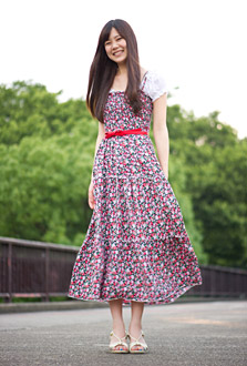 Natural Motifs Are In This Summer Fashion Trends In Japan Web Japan