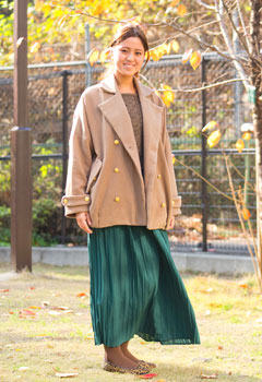 Long, Flowing Maxi Skirts | Fashion | Trends in Japan | Web Japan