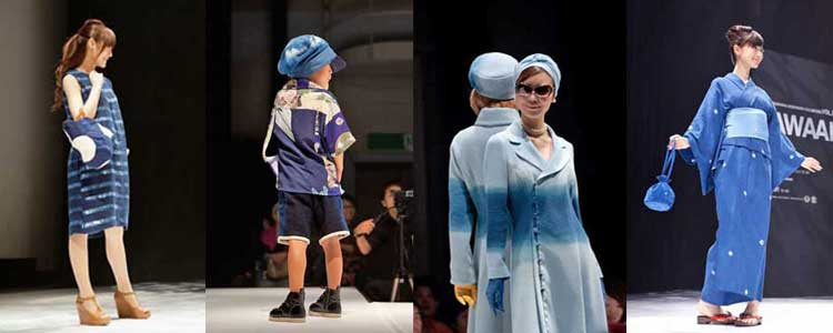 Japan S Blue Created With Indigo Dye Fashion Trends In