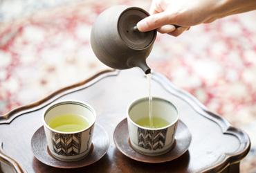 People Drinking Tea