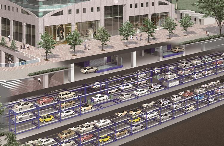 Hidden Like Secret Bases - Automated Multistory Parking ...