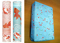seals and wrapping paper