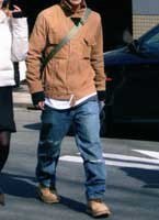 Baggy jeans are also popular with men color amp design research room