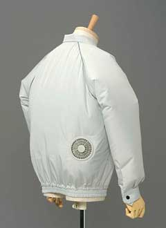 air conditioning jacket. air-conditioned clothes | science and technology trends in japan web air conditioning jacket g